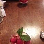 Tiramisu framboises et crumble noisettes (un délice)