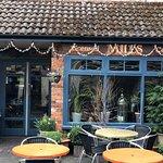 Gorgeous courtyard cafe