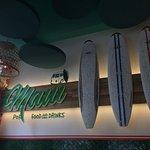 tavole da surf su parete