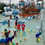 Daisy Section Waterpark and Kids Club water balloon fight!