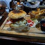 hamburguesa con papas