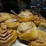 Man oh man do they have amazing cinnamon rolls!