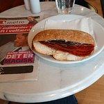 Bilde fra Italiensk is og sandwich
