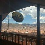 Siete y siete, cafetería en una colina de Cusco, excelente lugar y precios.