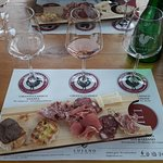 prima parte del taglier e degustazione vini