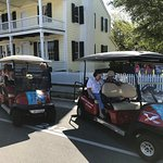 We can pick you up at lodging or other Beaufort location. You don't have to come to us. Great for limited mobility guests