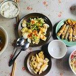 Vietnamese  cuisine we cook together after making paper flower
