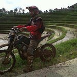 Ubud to batur volcano dirt bike ride,