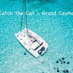 Catch the Cat Grand Cayman at Stingray City. Private charter