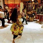 Dancing in Wassa's Boutique