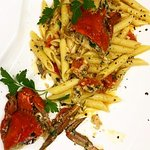 penne crab