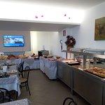 sala colazione a buffett