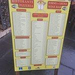 Menu - Ristorante Pizzeria Forno a Legna 12 Apostoli Photo
