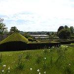 The gardens at Parham House