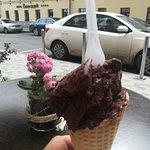 """My Gelato Cafe"", два шарика джелато - шоколад"
