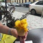 """My Gelato Cafe"", два шарика джелато - манго"