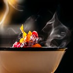 Steaming miso ramen