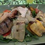 Ensalada de verduras grill.