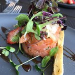 Entrée du lunch de la semaine - tartare de saumon