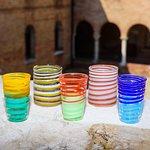 Goti in vetro di Murano