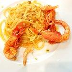 Spaghetto con Gamberi di Mazzara del Vallo!