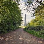 A lovely walk up to the monument and to its base