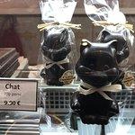 Des petits chats à déguster chez Charles Chocolatier