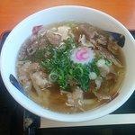 肉うどん (麺1倍 肉3倍)