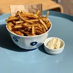 Burdock (Japanese root vegetable) chips