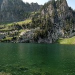 Bloomington Lake. This easy hike is less than 2 miles, but the lake is beautiful and relaxing.  Bloomington is about 10 miles north of Garden City, Utah. Enjoy the area!