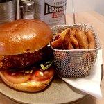 Seaseme Seed & Buttermilk Chicken Burger