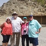 Fujairah tour with guest from USA from fujairah cruise terminal