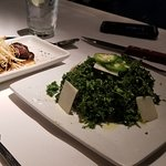Kale salad -- recommended by son who often treats his clients to Perry's.