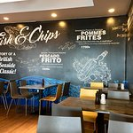 Fish and chip restaurant