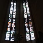 Hauptkirche St. Jacobi, витражи