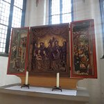 Hauptkirche St. Jacobi, икона-триптих