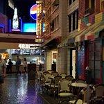 Outside of the deli inside NY/NY Casino