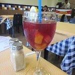 Sangria was refreshing