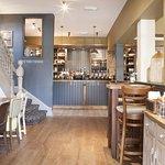 Interior of the pub