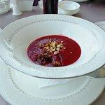 Крем суп свекольный