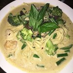 Green Curry Linguine