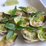 clams with garlic and butter