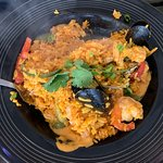 Paella type dish called Mariscada