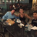 Yummy pizza, the best partner #arrbycarlosgil and a friend/student from the Boys & Girls Club of last year... he knows more about fish and nature than any of us! Our waiter was nice and helpful! A great place to come with your family, friends or your partner! Enjoy! Follow me for more details about Vieques, We Live Here! 🙏🏼