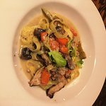 Chicken with Truffle Pasta