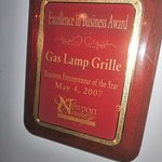 Foto de The Gas Lamp Grille