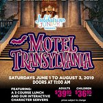 Motel Transylvania plays in Edmonton June 1st - August 3rd!  Call 780-484-2424 or visit www.jubilations.ca for tickets!
