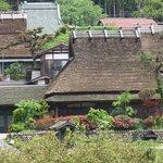 Miyama Village with iconic Japanese idyllic landscape.
