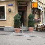 Café le Miracle Ecke Fröhlichstrasse-Korneliusstrasse