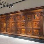 Sala del Platina 15th century cabinet